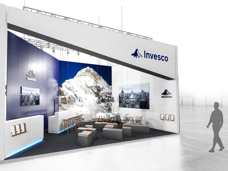 Visualisierung Messestand zur Expo Real