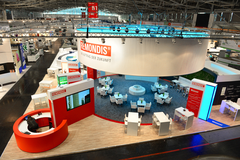 Messestand REMONDIS zur IFAT 2014